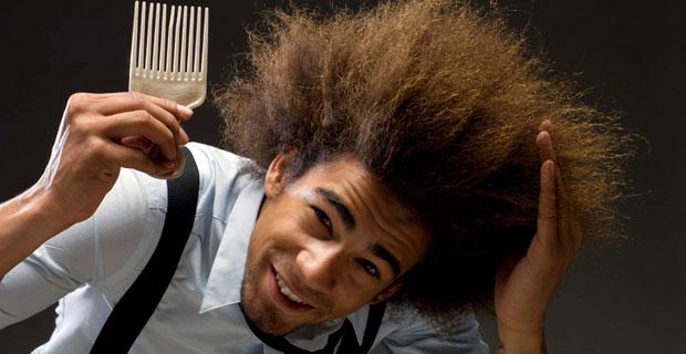 gęste włosy